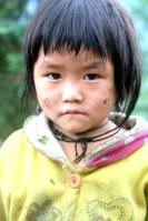Cute Girl, Tribal Village